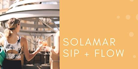 Solamar Sip + Flow tickets