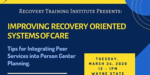 Tips for Integrating Peer Services into Person Center Planning