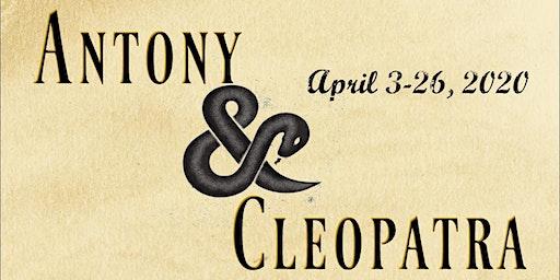 The Rustic Mechanicals Antony & Cleopatra at The VTC Cabaret (Clarksburg)