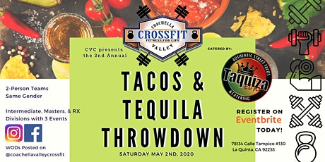 Tacos & Tequila Throwdown 2 tickets