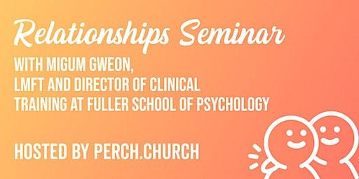 Healthy Relationships Seminar