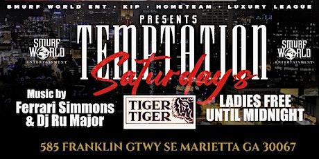 Temptation Saturdays @ Tiger Tiger tickets