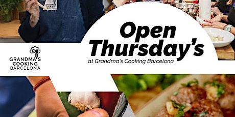 27 de febrero Open Thursday's Networking/Esmorzar de Forquilla/Brunch at Grandmas Cooking Barcelona  entradas