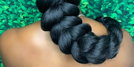 3D Braiding, Minimum to no heat Natural Styling + Lock Designing tickets