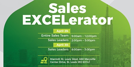 Sales EXCELerator St. Louis tickets