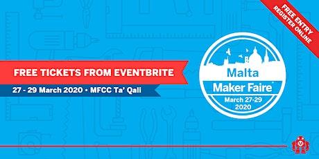 Maker Faire Malta tickets