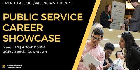 Public Service Career Showcase tickets