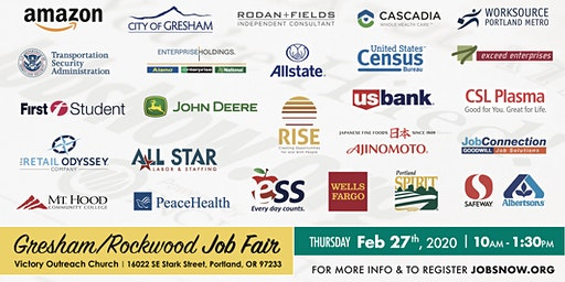 Gresham/Rockwood Job Fair