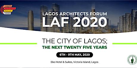 Lagos Architects Forum 2020 (LAF 11.0) tickets
