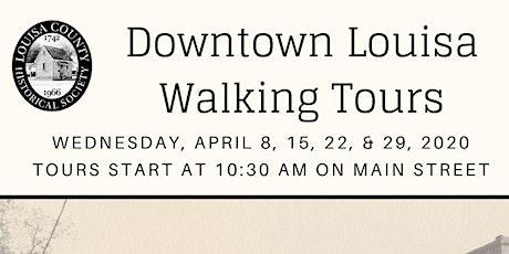 POSTPONED-Downtown Louisa Walking Tour tickets