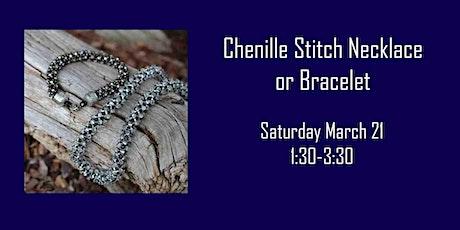 Chenille Stitch tickets