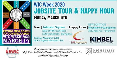 NAWIC NWA WIC Week Jobsite Tour & Happy Hour tickets