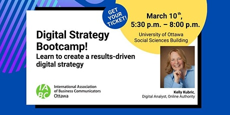 Digital Strategy Bootcamp tickets