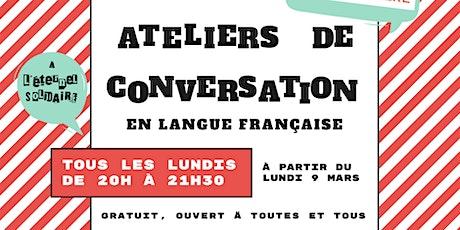 Café-conversations pour apprendre le Français ! billets