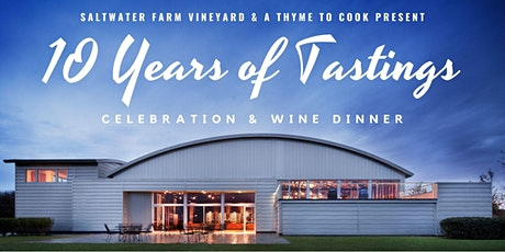 POSTPONED: 10 Years of Tastings: Celebration & Wine Dinner tickets