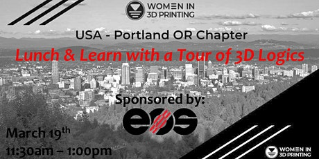Lunch & Learn w/ EOS & Tour of 3D Logics tickets
