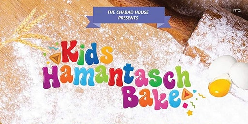 Purim! Kids Hamentach Bake!