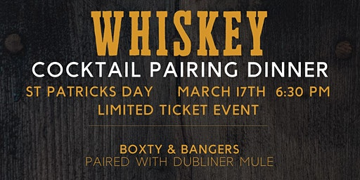 21 NORTH Whiskey Cocktail Pairing  Dinner