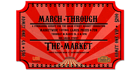 March Through The Market tickets