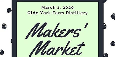 Maker's Market at the Distillery tickets