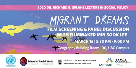 2020 Dr. Richard B. Splane Lecture in Social Policy tickets