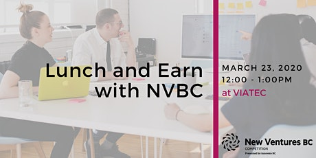 Lunch and Earn with NVBC tickets