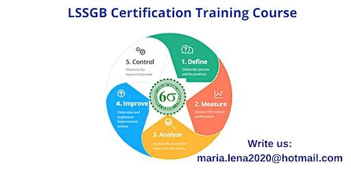LSSGB Classroom Training in Ben Lomond, CA