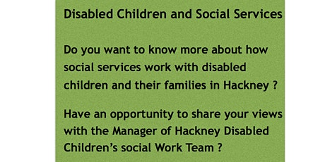 Disabled Children and Social Services tickets