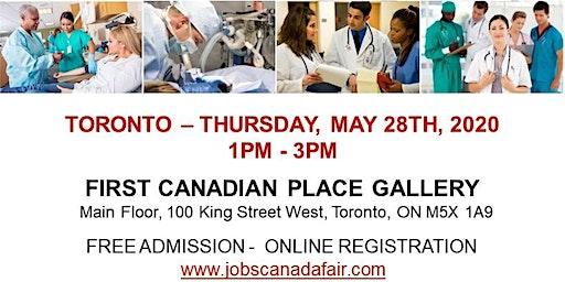Toronto Healthcare Job Fair - May 28th, 2020