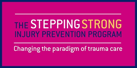 Stepping Strong Injury Prevention Program Launch tickets