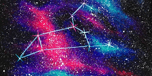 """Adult Open Paint(18yrs+) """"A Sign in the Stars"""""""