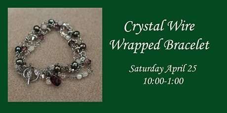 Crystal Wire Wrapped Bracelet tickets