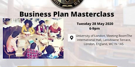 Business Plan Masterclass tickets