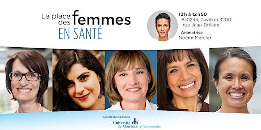 Panel - La place des femmes en santé