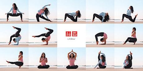 Yoga Wednesdays with UNIQLO tickets