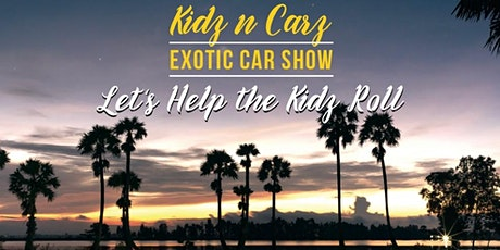 Kidz N Carz Exotic Car Show tickets