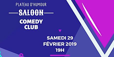 Saloon Comedy CLub billets