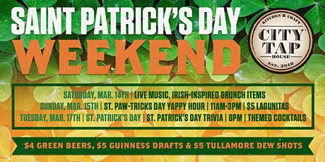 St. Patrick's Weekend tickets