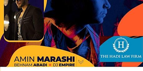 Amin Marashi Live In concert tickets