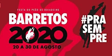Festa do Peão de  Barretos 2020 ingressos