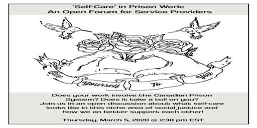 WEBINAR: 'Self-Care' in Prison Work: An Open Forum for Service Providers