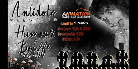 Humour et bouffe végane / 9 mars tickets