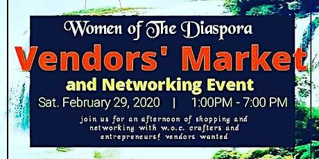 Women of the Diaspora Vendors' Market and Networking Event tickets
