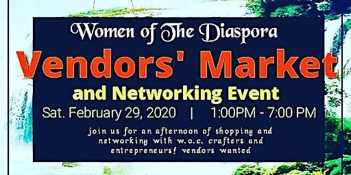Women of the Diaspora Vendors' Market and Networking Event