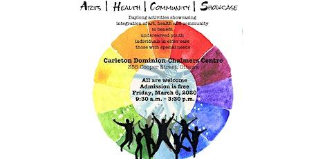 Arts|Health|Community Showcase tickets