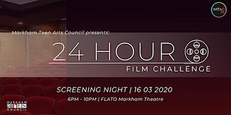 24 Hour Film Challenge Screening Night 2020 tickets