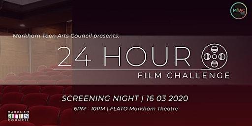 24 Hour Film Challenge Screening Night 2020