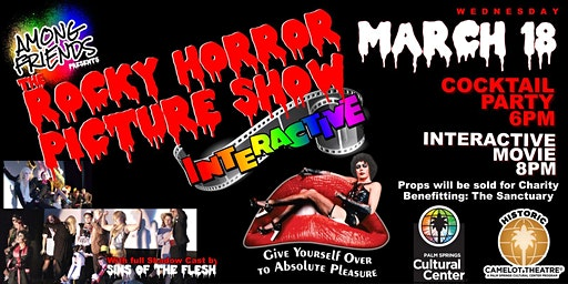 Among Friends: ROCKY HORROR PICTURE SHOW INTERACTIVE + CHARITY EVENT