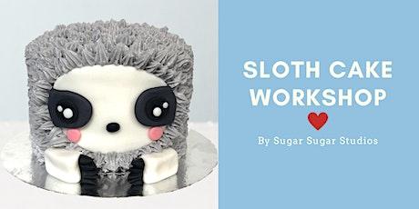 Cake Decorating: Sloth Cake Workshop tickets