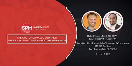 The Customer Value Journey: The Key to Effective Marketing Workshop tickets